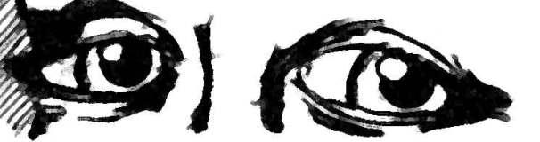 Los ojos de la mujer más triste del mundo